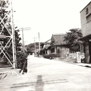 昔の東谷村役場